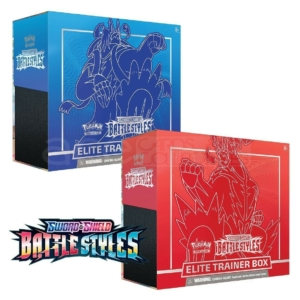 POKEMON: SWORD & SHIELD – BATTLE STYLES ELITE TRAINER BOX (SET OF 2)