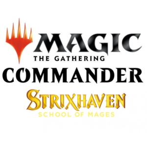 Magic: The Gathering – Strixhaven: School of Mages Commander Decks – (All 5 Decks)